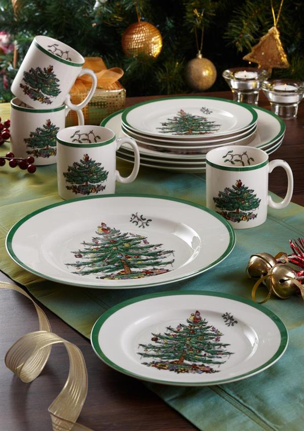 CHRISTMAS TREE 12PC SET SPODE