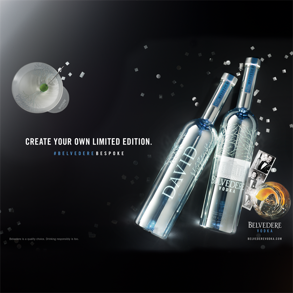 BELVEDERE VODKA Bespoke Bottle LE 02 01