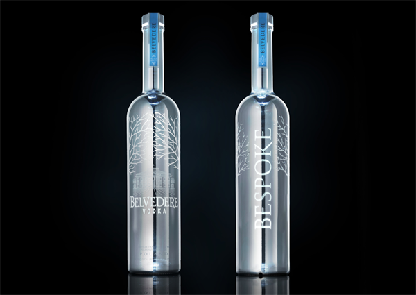 BELVEDERE VODKA Bespoke Bottle Black 01