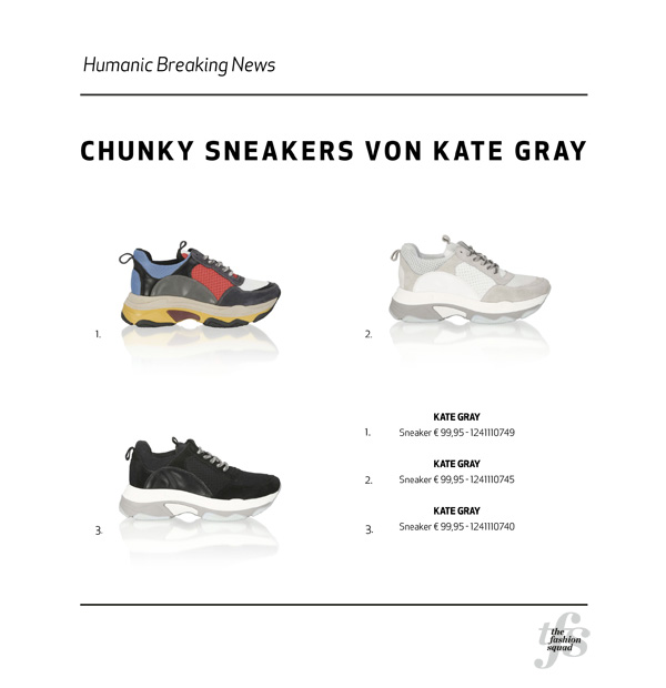 HUMANIC Chunky Sneaker ONLINE