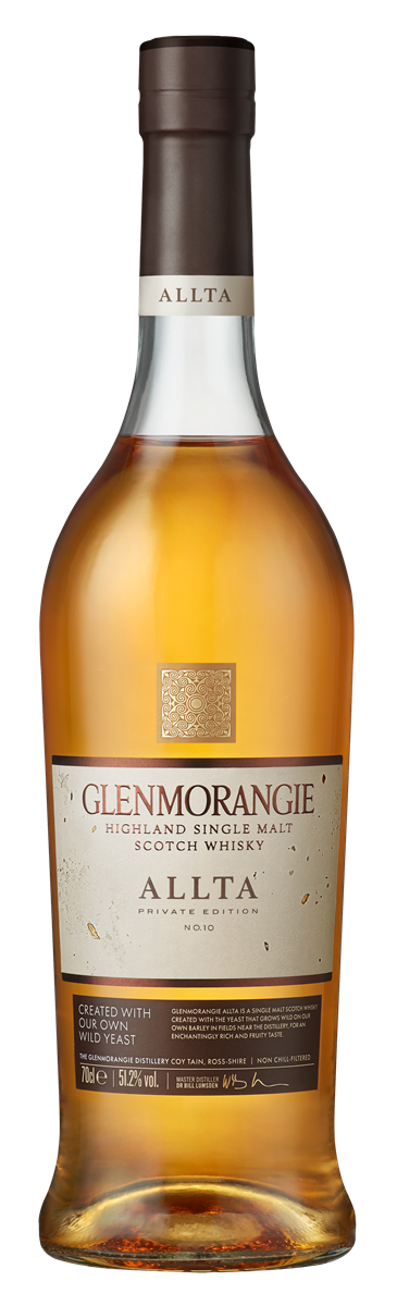 Glenmorangie Private Edition 10 Allta_Bottle on Transparent Background