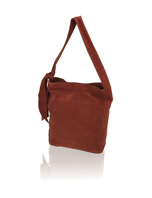 HUMANIC 39 Vigneron Veloursleder-Hobo Bag EUR 140 6111235557