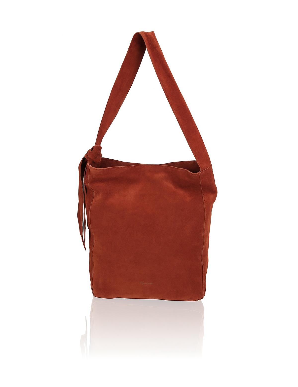 HUMANIC 40 Vigneron Veloursleder-Hobo Bag EUR 140 6111235557