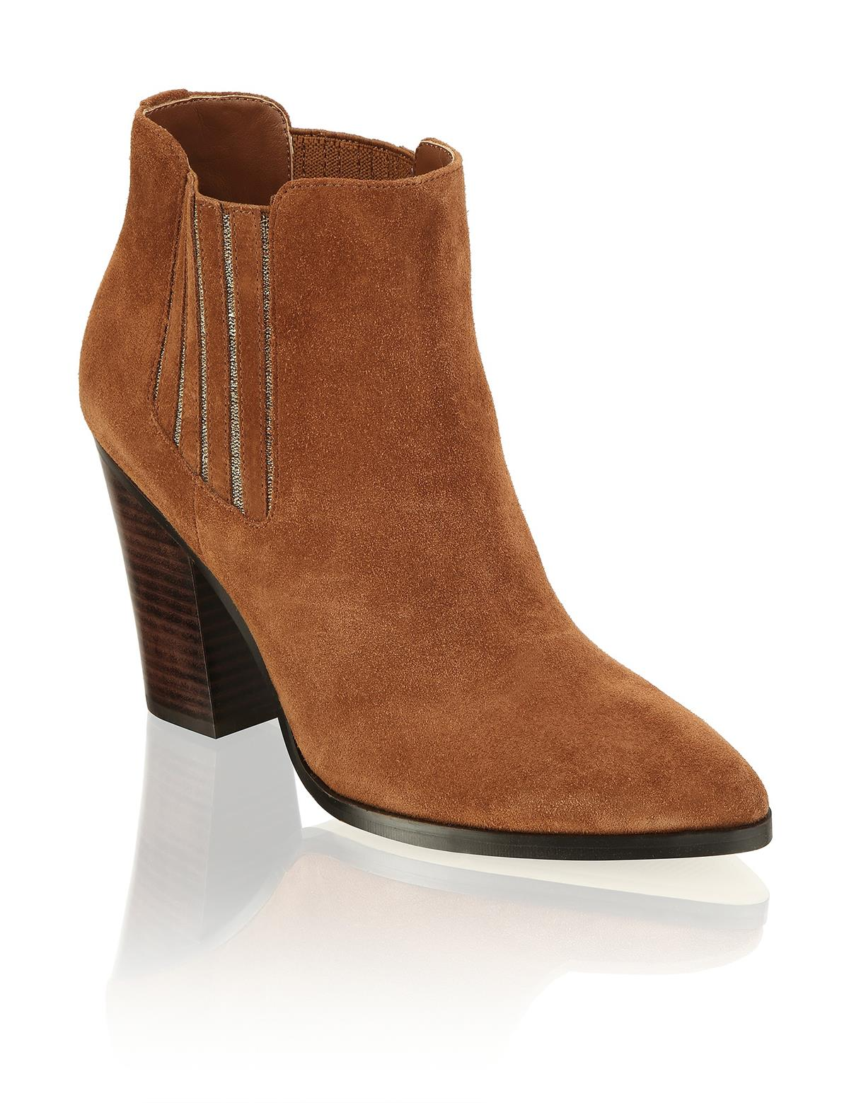 HUMANIC 47 Kate Gray Veloursleder-Western Boot EUR 79,95 1643616532