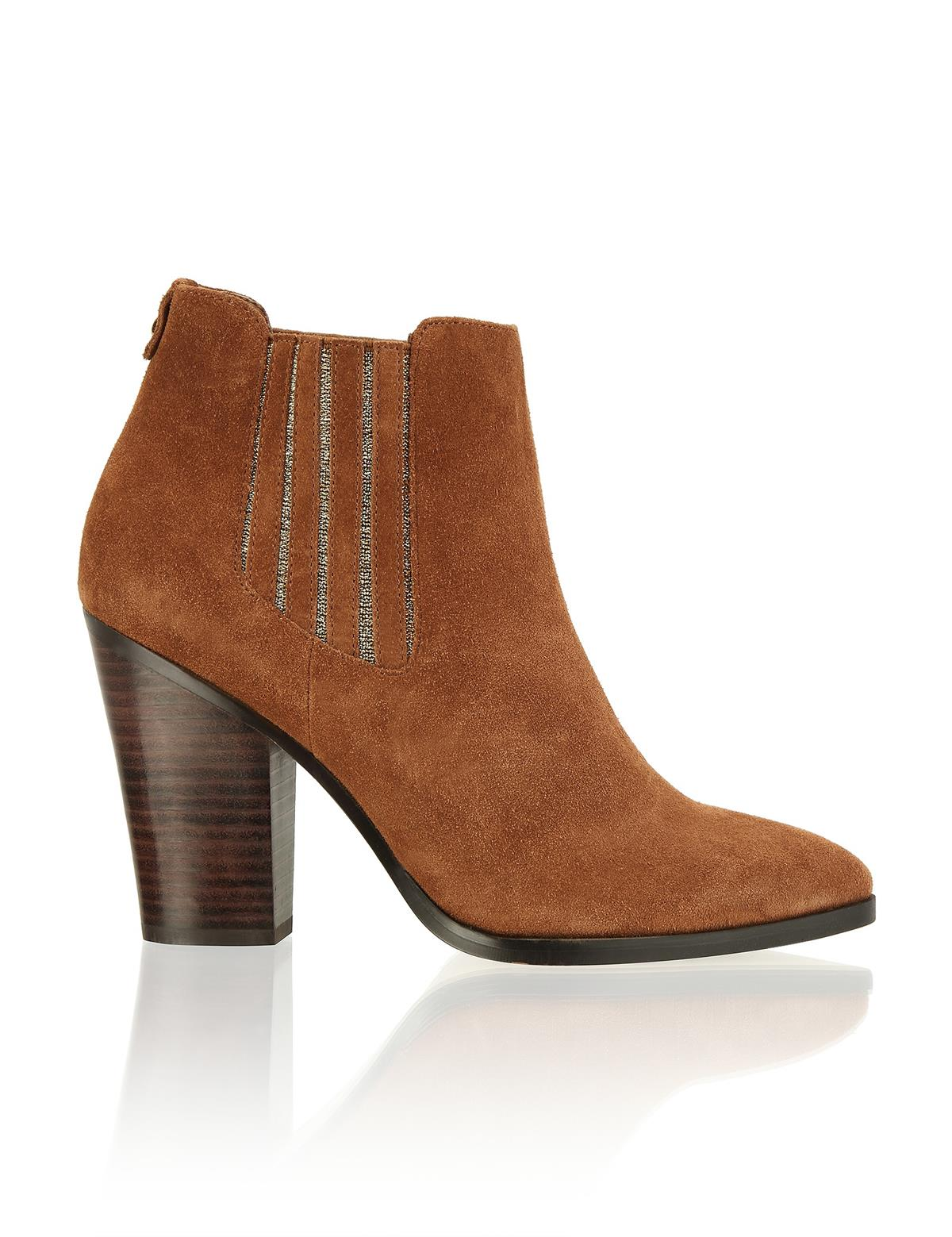 HUMANIC 48 Kate Gray Veloursleder-Western Boot EUR 79,95 1643616532