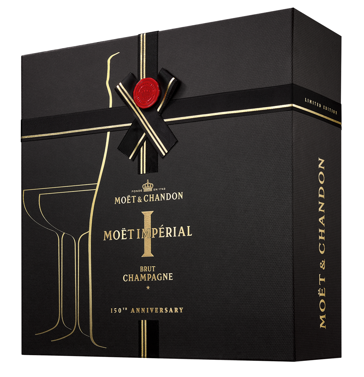 Moët-Chandon-Giftpack-1bouteille-2-coupes EUR 70