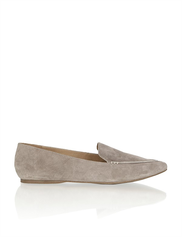 HUMANIC 02 Kate Gray Veloursleder-Slipper EUR 59,95 1241206774
