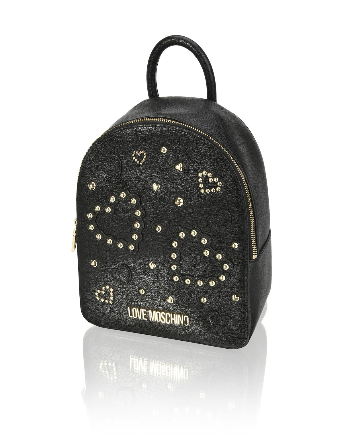 HUMANIC 49 Love Moschino Backpack mit Studs EUR 200 6131502160