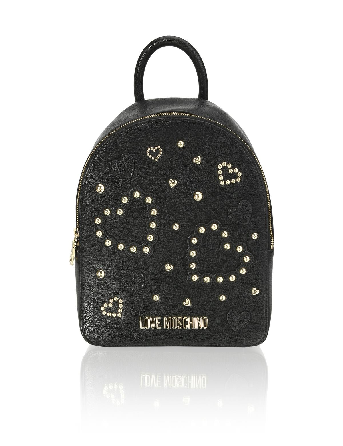 HUMANIC 50 Love Moschino Backpack mit Studs EUR 200 6131502160