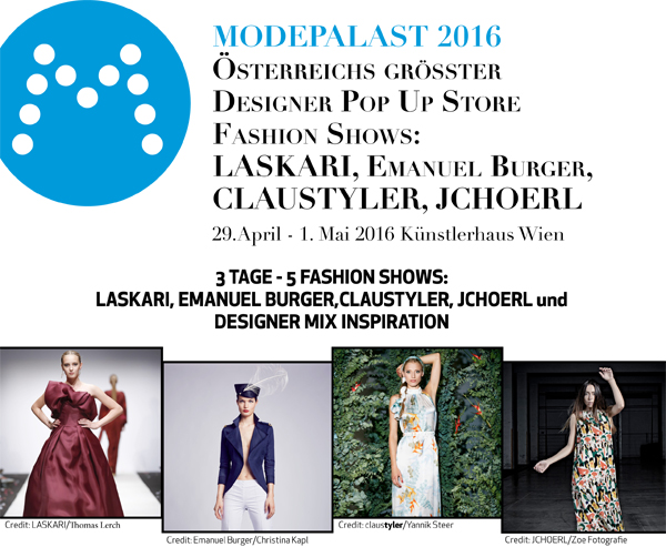 Modepalast Fashion Shows 2016 Cover